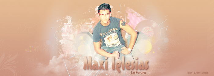 Maxi Iglesias, Le Forum