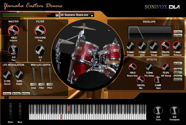 SONiVOX Yamaha Custom Drums