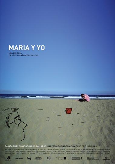 Poster de Maria y yo