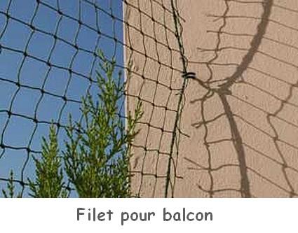 Solution anti fugue et protection jardin balcon fenetre - Filet fenetre chat ...