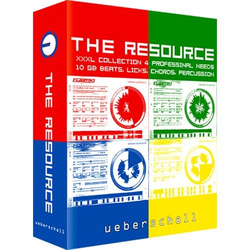 Ueberschall The Resource VSTi RTAS AU HYBRiD DVDR D1 & D2-DYNAMiCS