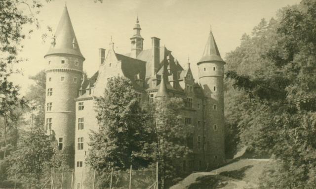 Marcheles-Dames en 1950, cantonnement. Albert077-1250195